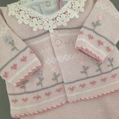 Conjunto saída de maternidade de tricot Bellágio Dolce Abbraccio na Maison Baby