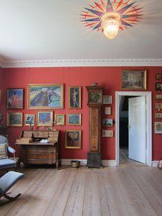 Living room Johannes Larsen Museum Fyn