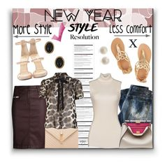 """New Year's Style Resolution: More style, Less comfort"" by nans-g ❤ liked on Polyvore featuring Giuseppe Zanotti, Replay, 7 For All Mankind, Links of London, House of Harlow 1960, Arche, Yves Saint Laurent, River Island, Barbara Bui and Fendi"