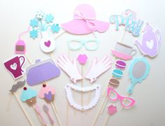 Hey, I found this really awesome Etsy listing at https://www.etsy.com/listing/230758736/22pc-tea-party-photo-booth-propsprincess