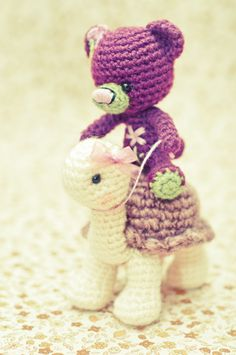 An a amigurumi a day. //  SUCH SWEETNESS!!!  MUSTMUSTMUST MAKE!  ♥A