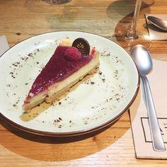 La Charla, Madrid. Cheesecake