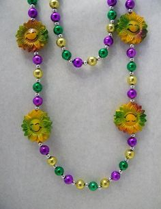 Mardi Gras Beads for Dawn!!