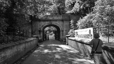 Tunnel entrance to Croxteth Park
