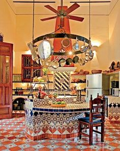 awesome Spanish style kitchen