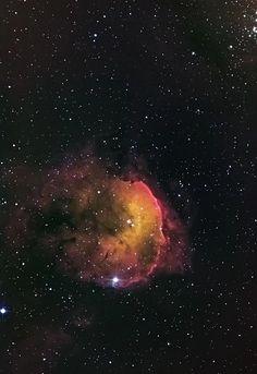 Nebulosa NGC 3372, también llamada Gabriela Mistral