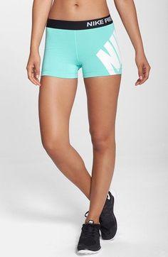 Nike+'Pro'+Logo+Shorts+available+at+#Nordstrom