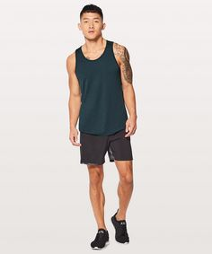f075b7b47 Lululemon metal vent tech tank - mariner, medium Workout Tanks, Mens  Fitness, Tank