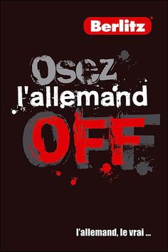 Osez l'allemand off...