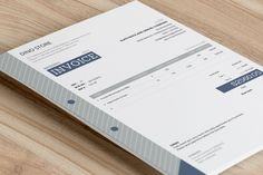 Easy to get noticed, easy to get read, easy to get paid. This beautiful invoice template uses bold boxes and elegant typography to create an easy-to-understand design. Refined corporate colors additionally enrich the layout and send message of a serious, creative company. Download it at https://invoicebus.com/templates/invoices/corporate/corporate-invoice-template-easy/
