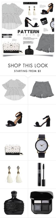 """Pattern Mixing"" by mahafromkailash ❤ liked on Polyvore featuring Christian Dior and John Varvatos"