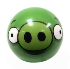 Angry Birds  Inch Foam Ball Pig By Commonwealth Toys   Angry Birds Is
