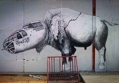 Wheat Paste Graffiti