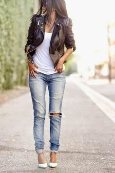 Luv to Look | Curating Fashion & Style: Street style | Edgy casual outfit
