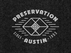 Pres Moon Logo, Retro Logos, Typography, Lettering, Preserves, Logo Design, Branding, T Shirts For Women, Texas