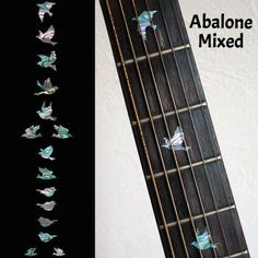 [Visit to Buy] Fretboard Markers Inlay Sticker Decals for Guitar & Bass - Dove Fret Markers #Advertisement