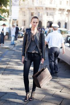 Isabel Marant Keni leather jacket