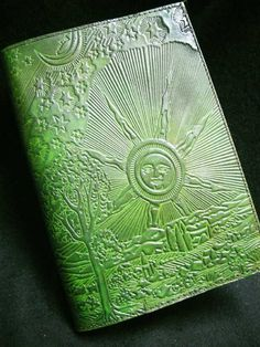STAR PILGRIM Pagan Wicca Re-Fillable A5 Handmade Leather Journal B-o-S Grimoire | eBay