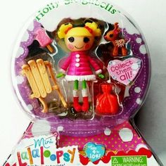 ************SANTA*************  New Mini Lalaloopsy Doll Holly Sleighbells Sew Snowy Series 10 4 | eBay
