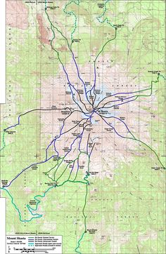Mount Shasta East Side The Mountain Mt Shasta California - Mount shasta us map