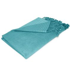 Incredibly soft, luxurious, and comfortable, this striped Lori Bamboo Fabric Throw Blanket is a must have for any space. Made with 100% bamboo fiber, it not only feels wonderful, but is also 100% biodegradable and has natural anti-bacterial properties. $139.99 Sale $40.99. Buy here. Related posts: Pendleton Merino Wool Throw & Carrier Bliss Plush Throw … … Continue reading →