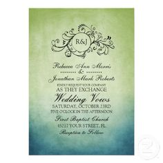 green, teal, turquoise wedding - Google Search