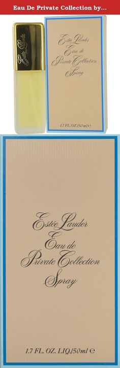 Eau De Private Collection by Estee Lauder for Women Fragrance Spray, 1.7 Ounce. This product is made of high quality material. It is recommended for romantic wear. This Product Is Manufactured In United Kingdom.