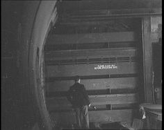 """From now on that man can do his worst. London's tube railways are safe."" Watertight doors are added to tube tunnels to protect them from air raids in 1939. Click to see it working: http://www.britishpathe.com/video/raid-proof-tubes"