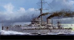 A new image of ship that launched an era: HMS Dreadnought