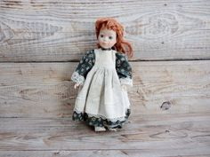 Beautiful Vintage Doll Girl with Fire Hair by GuestFromThePast
