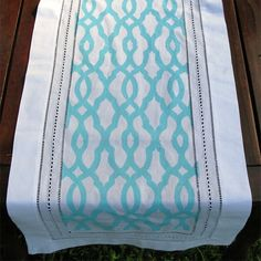 Table runner- could convert colors so that it is winter themed!