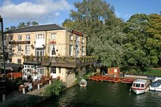 The Head of the River, Oxford - our favorite pub
