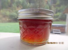 - use powdered pectin for consistent results. Sounds great made with chai tea or Lady Grey! Jelly Recipes, Jam Recipes, Canning Recipes, Relish Recipes, Canning Tips, Fruit Recipes, Cooker Recipes, Diet Recipes, Vegetarian Recipes