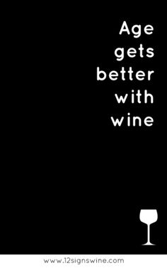 Age gets better with wine and vice versa!   Missouri Wines