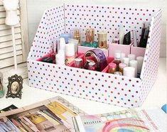 DIY makeup storage!