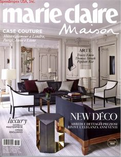 Couverture ELLE Décoration 195 | Couvertures ELLE Décoration   Covers |  Pinterest