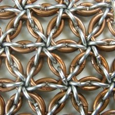 Borealis Weave Chainmaille.