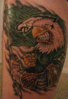 Philadelphia Eagles tattoo