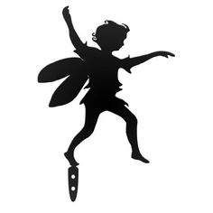 Olde Victorian 300120 Garden Running Fairy, Gadfly, Black by Olde Victorian. $10.50. Measures 9-inch width by 13-inch height. Great gift for a gardner; available in black color. Fairy garden shadow gives you the illusion of a silhouette in your garden. Made out of rust resistent recycled heavy gauge steel for indoors or outdoors. Magic and enchantment of fairies playing in your garden. Fairy garden shadow gives you the illusion of a silhouette in your garden. Magic and enchantmen...