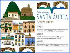 #Villavelayo celebrará las #fiestas en honor a Santa Áurea los días 9, 10 y 11 de agosto con un amplio programa de actos. #FiestasRiojanas