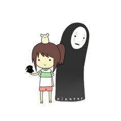 Chihiro & Kaonashi