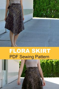 Flora skirt pattern by On the Cutting Floor http://www.onthecuttingfloor.com