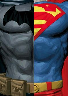 Two of the best super heroes ever