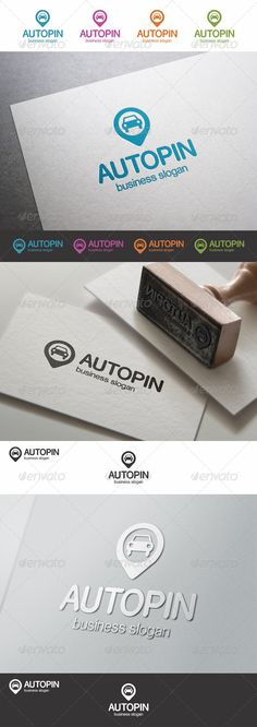 Find Car Pin Logo - Auto Point – Car Locator Logo Template – This logo design for all creative business. Simple, clean and modern Auto Store or Auto Service logo template. An excellent logo template highly suitable for automotive businesses. It stands out and instantly recognizable. Perfect for car stores, car dealers, cars service, and auto industry. The logo looks great on white and black backgrounds.