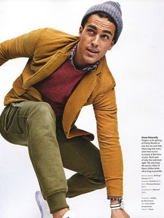 Clint Mauro Serves Up Style Inspiration for GQ Style Fall/Winter 2015