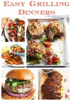 easy grilling dinners