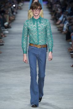 Gucci spring/summer 2016 menswear - click to see the full gallery