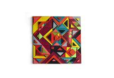Kite | Wood | Modern Art | Wall Deco | facebook.com/decobox.ro