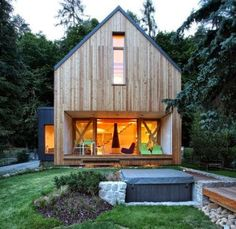 Modern Minimalist Design Wooden House If in the previous article we always discuss about the design minimalist house with walls