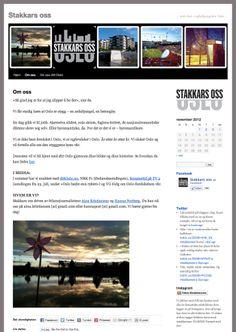 Nettside Stakkars oss. Web design.